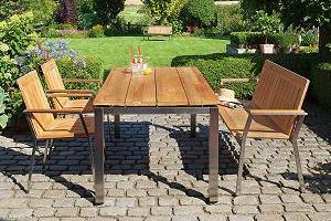 Gartenmöbel Alu Holz ~ Die neuesten Innenarchitekturideen